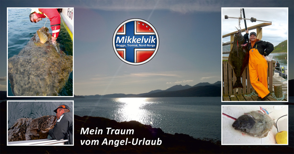 """Präsentation Mikkelvik Brygge mit """"Mein Traum vom Angel-Urlaub"""""""
