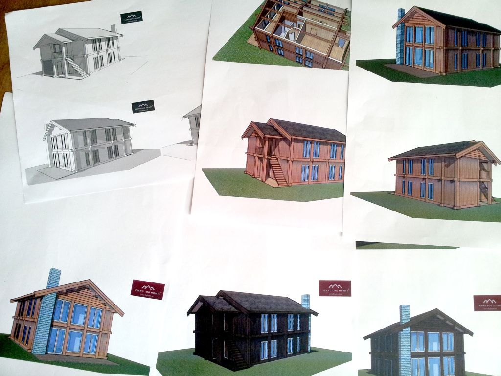 Alle Entwürfe der Traum-Häuser entsprachen unseren Vorstellungen