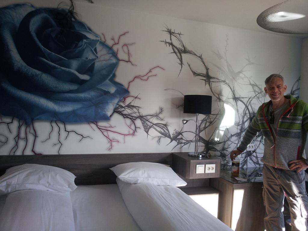 Hotelzimmer im Scandic-Hotel in Namsos - empfehlenswert!